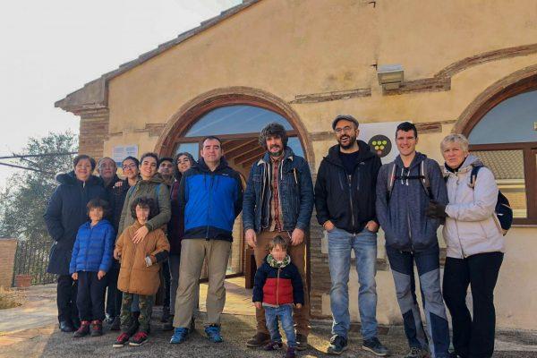 Primera visita de l'any 2020 – Ens visita un grup de Gandia